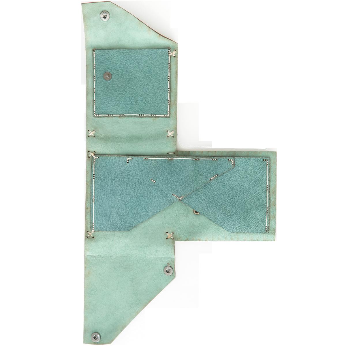 iroko-wallet-green-open-front