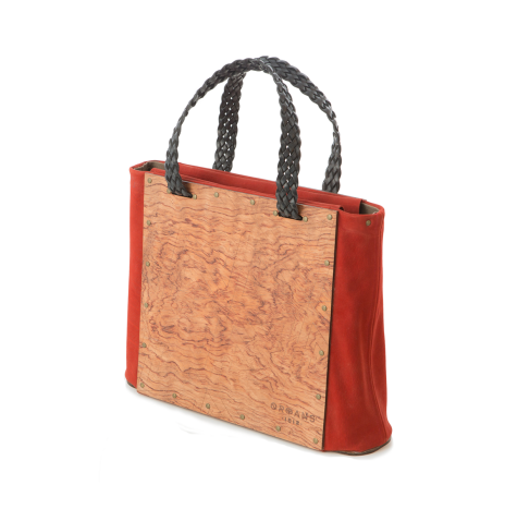 ROSEWOOD BURL SHOULDERBAG