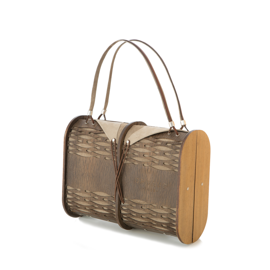 SMOKED OAK PURSE
