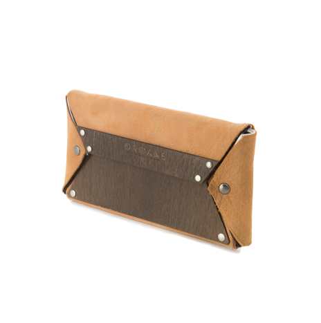 SMOKED OAK WALLET