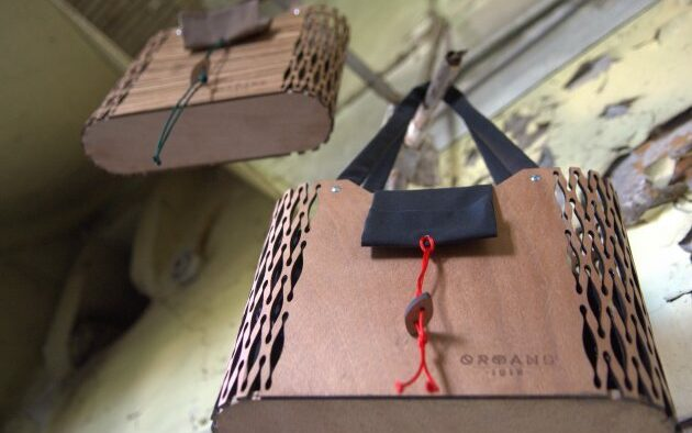 ATHENS VOICE: We are Orphans 1618 and We Design Wooden Bags